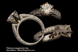 Platinum Egagement Ring